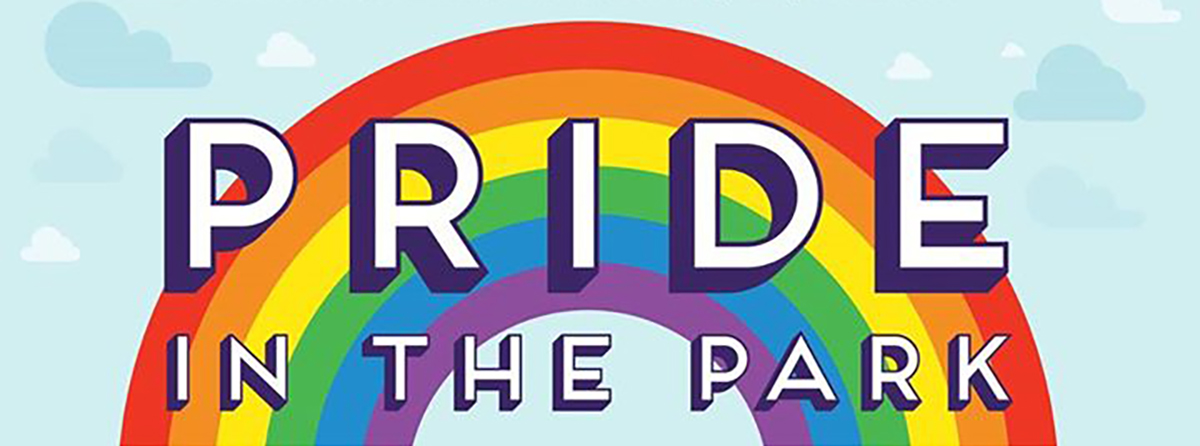 Annual Pride in the Park Poster